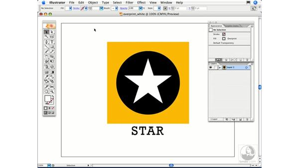 I've created a logo that is white on a black background, but it isn't printing. Why?: Illustrator CS2 FAQs