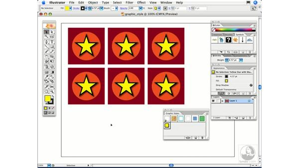 How can I modify a graphic style?: Illustrator CS2 FAQs