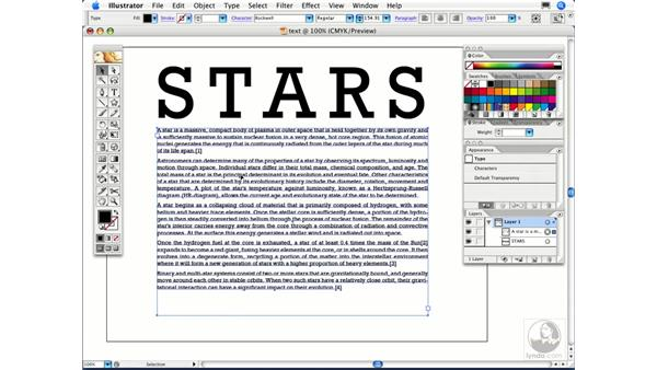 How can I create columns of text in Illustrator?: Illustrator CS2 FAQs
