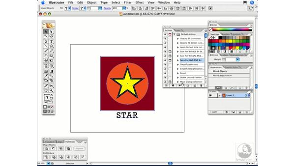 What are Actions and how do I use them?: Illustrator CS2 FAQs