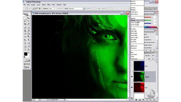 RGB color: Photoshop CS2 Channels & Masks