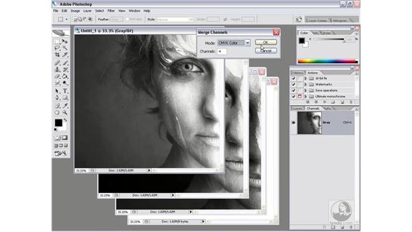 The weird world of Multichannel: Photoshop CS2 Channels & Masks