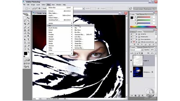 Putting a mask in play: Photoshop CS2 Channels & Masks