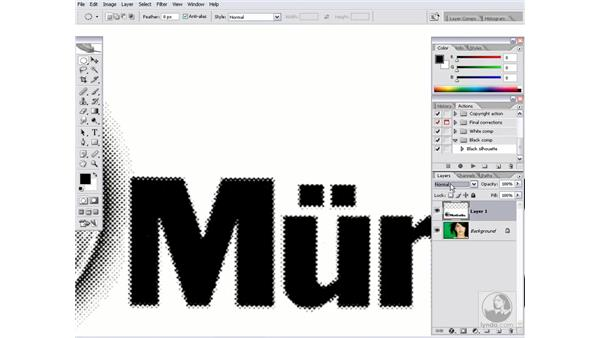 The power of Multiply: Photoshop CS2 Channels & Masks