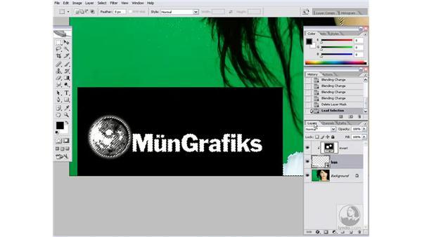 Coloring a logo: Photoshop CS2 Channels & Masks