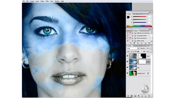 Selecting a Blend If channel: Photoshop CS2 Channels & Masks