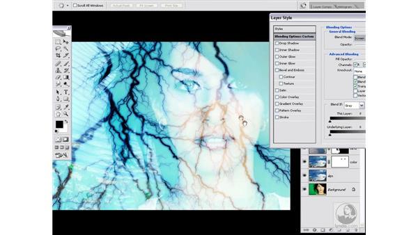 More fun with luminance blending: Photoshop CS2 Channels & Masks