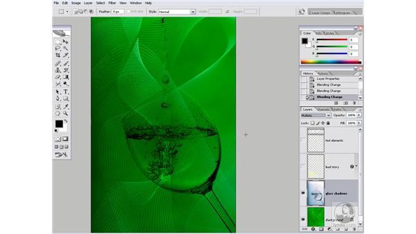 Balancing shadows and highlights: Photoshop CS2 Channels & Masks