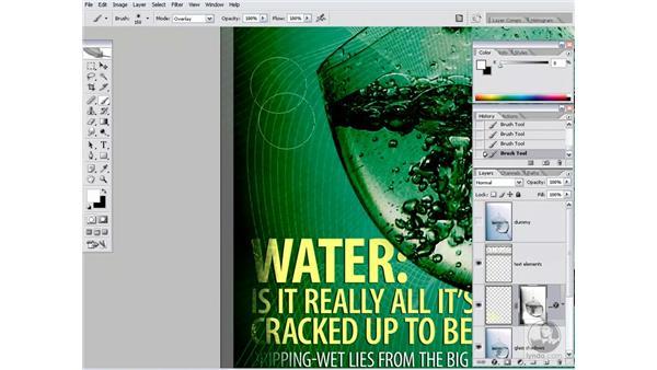 Masking the text: Photoshop CS2 Channels & Masks