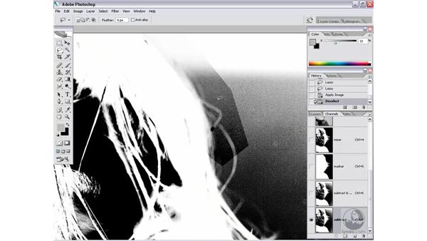 Gathering details with Apply Image: Photoshop CS2 Channels & Masks