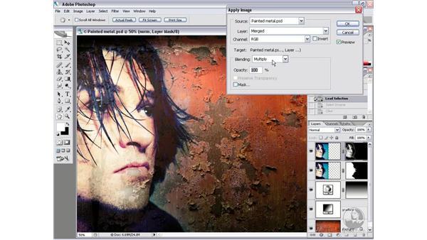 A few new compositing techniques: Photoshop CS2 Channels & Masks