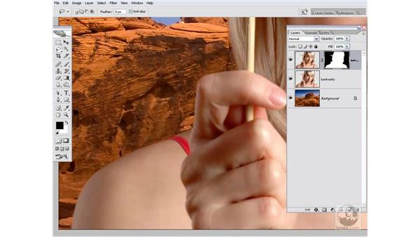 Drag, drop, and composite: Photoshop CS2 Channels & Masks