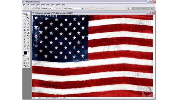 Making custom waves: Photoshop CS2 Channels & Masks