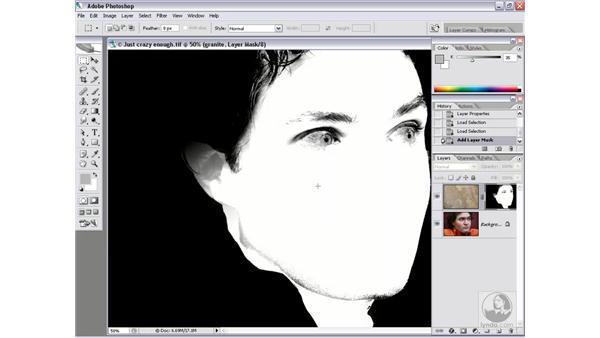 Turning flesh into stone: Photoshop CS2 Channels & Masks