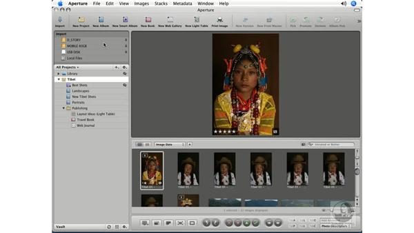 The new way of importing images: Aperture 1.5 Beyond the Basics