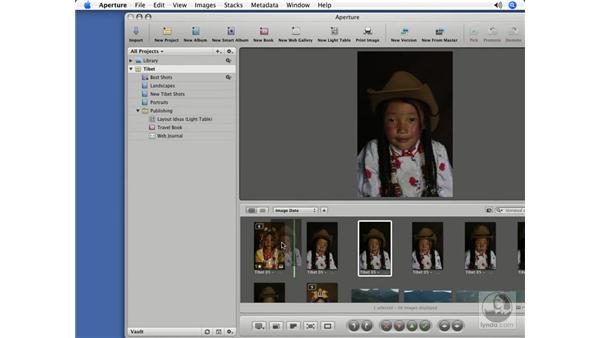 Creating and deleting previews: Aperture 1.5 Beyond the Basics
