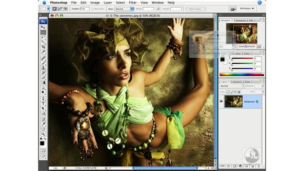The new interface: Photoshop CS3 New Features