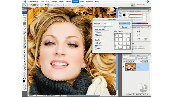 Smart filter masks: Photoshop CS3 New Features