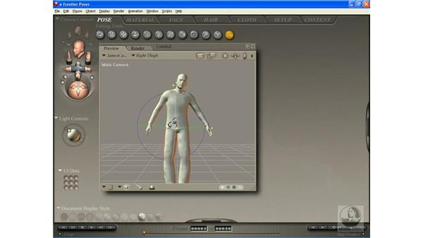 Direct Manipulation: Poser 7 Essential Training