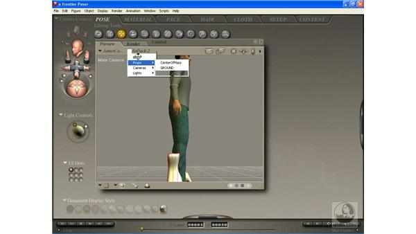 Importing props from other 3-D applications: Poser 7 Essential Training