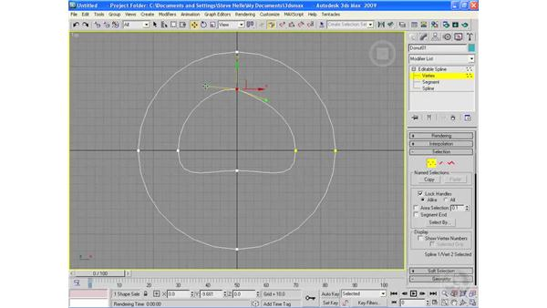Really complex right-clicking: 3ds Max 9 Essential Training