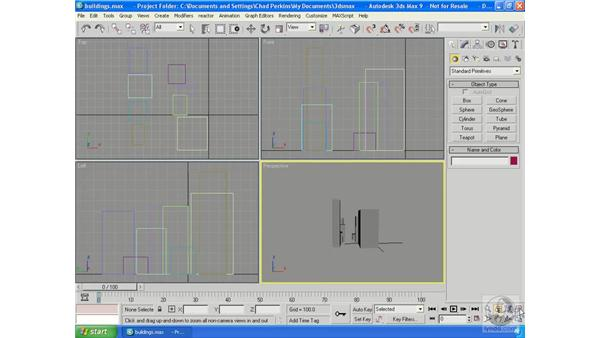 Highlights of the Navigation tools: 3ds Max 9 Essential Training