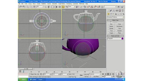 "The Transform Gizmo (yes, ""gizmo""): 3ds Max 9 Essential Training"
