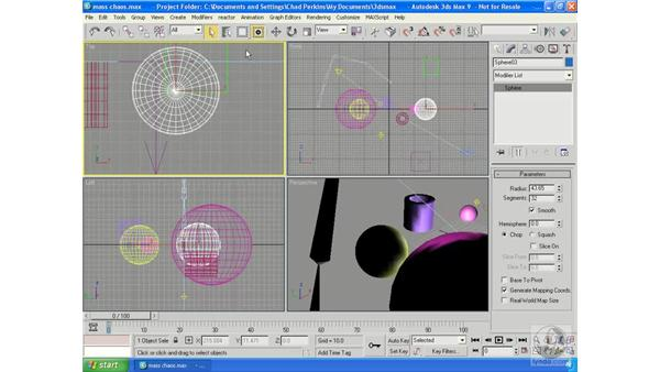 Selecting: 3ds Max 9 Essential Training