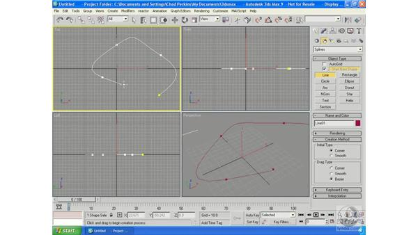 Creating with Shapes: 3ds Max 9 Essential Training