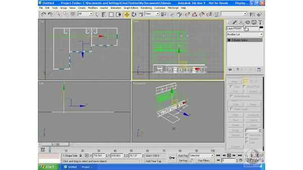 Architectural modeling 101: 3ds Max 9 Essential Training