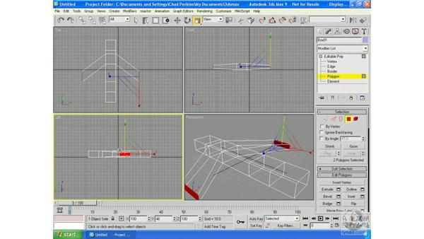 Box modeling: 3ds Max 9 Essential Training