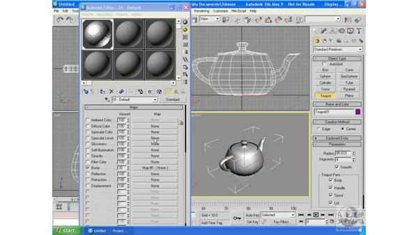 Specularity: 3ds Max 9 Essential Training