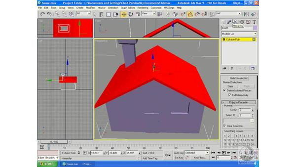 Multi/Sub-Object materials: 3ds Max 9 Essential Training
