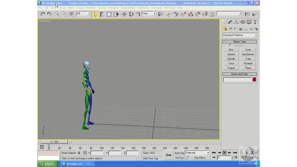Weight: 3ds Max 9 Essential Training