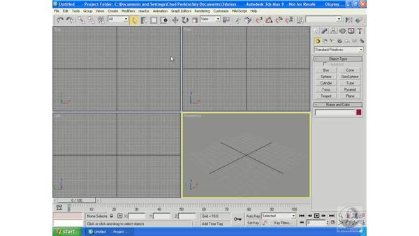 Intro to keyframe animation: 3ds Max 9 Essential Training