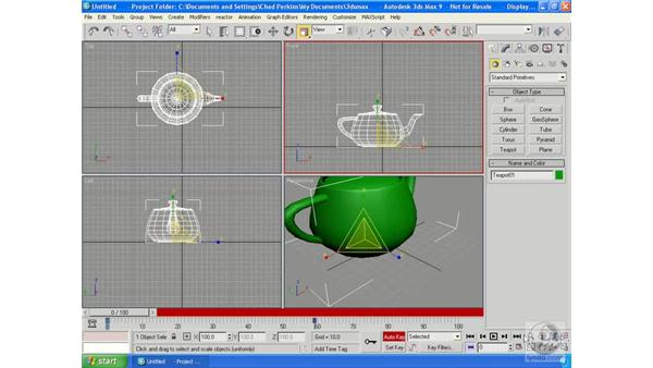 Animating in Max: 3ds Max 9 Essential Training