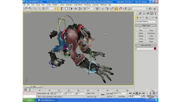 What is rigging?: 3ds Max 9 Essential Training
