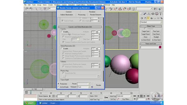 Introducing mental ray 3.5: 3ds Max 9 Essential Training