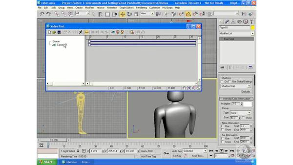 Video Post: 3ds Max 9 Essential Training