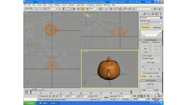 Animation controllers: 3ds Max 9 Essential Training