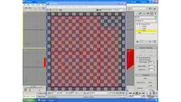 Render UVW template: 3ds Max 9 Essential Training