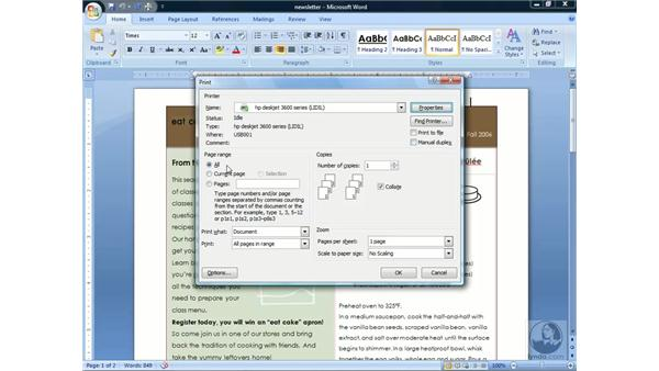 : Word 2007 Essential Training