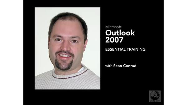 Welcome: Outlook 2007 Essential Training