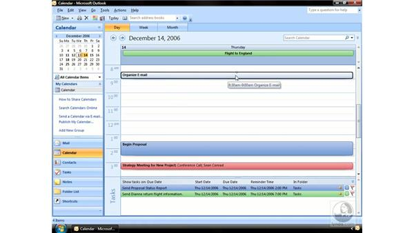 Creating Appointments: Outlook 2007 Essential Training