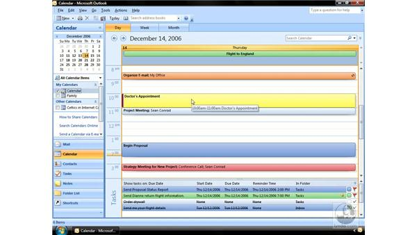 Setting Appointment details pt. 2: Outlook 2007 Essential Training
