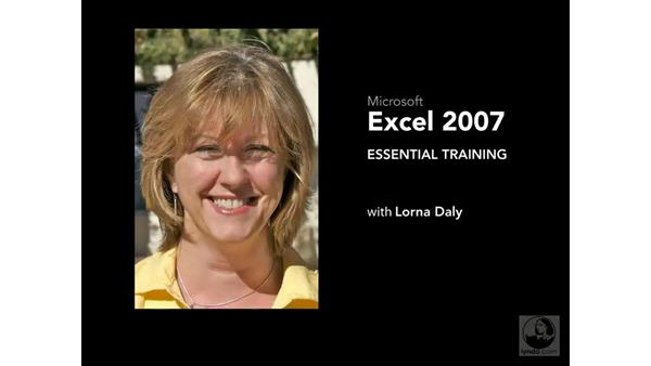 Welcome: Excel 2007 Essential Training