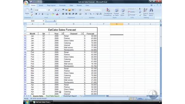 Why use a spreadsheet?: Excel 2007 Essential Training