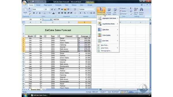 What is Conditional Formatting?: Excel 2007 Essential Training