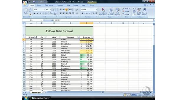 Working with Conditional Formatting: Excel 2007 Essential Training