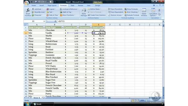 The new Formula Tab: Excel 2007 Essential Training